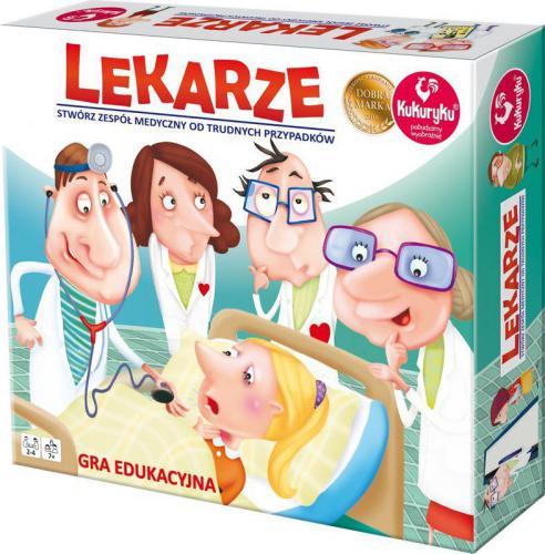 Promatek Lekarze gra planszowa (3155)