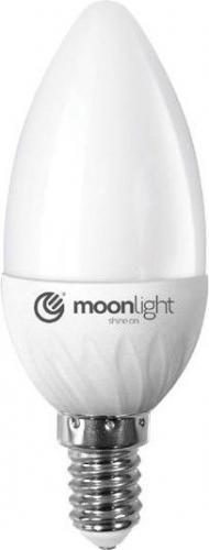 Moonlight E14, 3W, 240lm, ciepła (ML-C37-3W-CB)