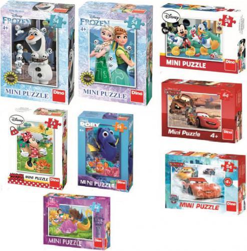 Dino Mini Opowieści Disneya, różne rodzaje, 54 elementów (214379)