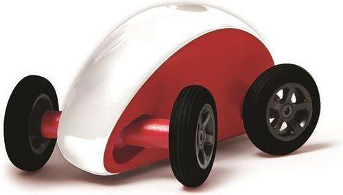 Plasmart Samochodzik slalomowy - czerwono-biały - 213686
