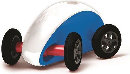 Plasmart Samochodzik slalomowy - niebiesko-bialy - 213688