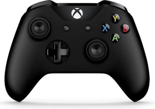 Gamepad Microsoft  Xbox One S Controller czarny (6CL-00002)