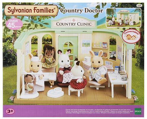 Epoch Sylvanian Families. Wiejski lekarz (2815)