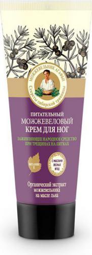 Babuszka Agafia Jałowcowy odżywczy krem do stóp 75ml