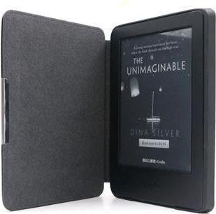 Pokrowiec C-Tech PROTECT Etui ''hardcover'' dla Kindle 8 Touch z funkcją WAKE/SLEEP czarne (AKC-12BK)