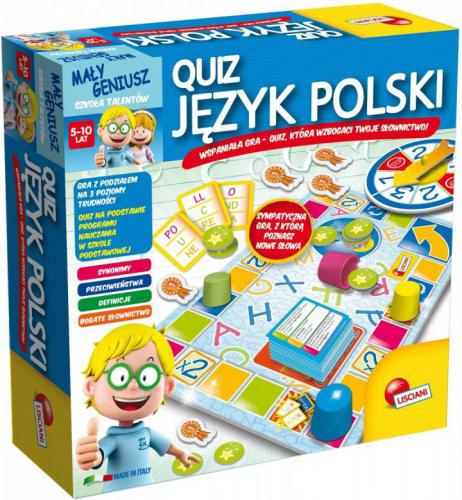 Liscianigiochi Mały Geniusz, Jezyk Polski (P54350)