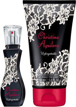 Christina Aguilera Unforgettable EDP 30ml + balsam do ciała 150ml