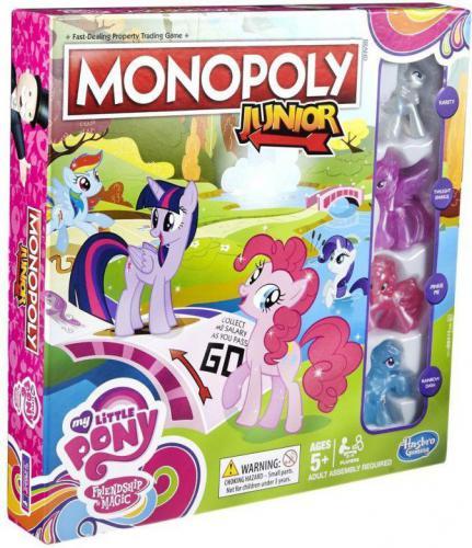 Hasbro Gra Monopoly Junior My Little Pony (B8417)