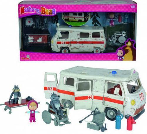 Simba Masza Zestaw Ambulans (109309863)
