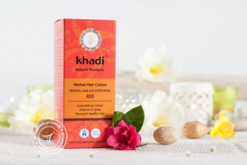 Khadi Henna naturalna z Amlą i Jatrophą 100g