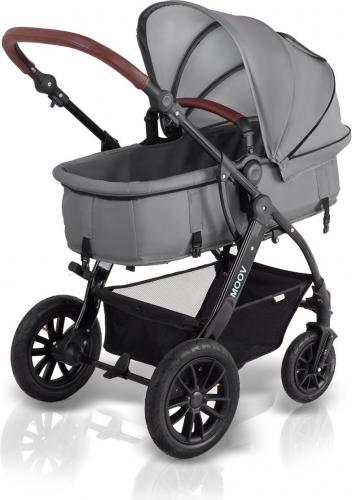 Wózek KinderKraft MOOV Gray Wielofunkcyjny(KKWMOOVGRY0000)