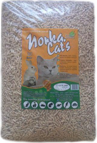 Jaro Żwirek drewniany Norka Cat's Jaro 30l