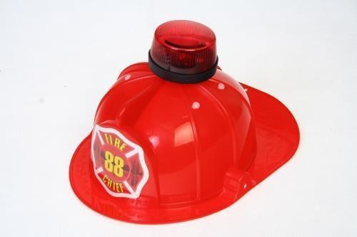 MEGA CREATIVE Hełm strażaka ze światłem (214622)