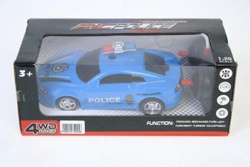 MEGA CREATIVE Auto zdalnie sterowane policja (214620)