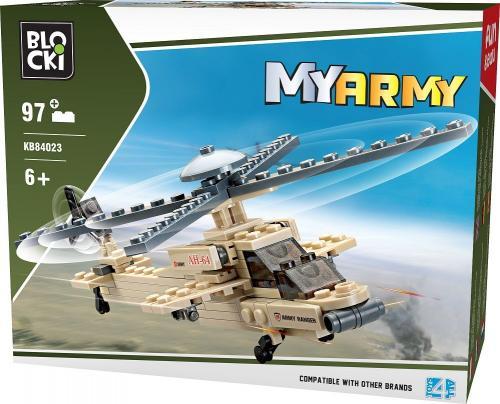 ICOM Blocki Wojsko - Helikopter 97el. (KB84023)