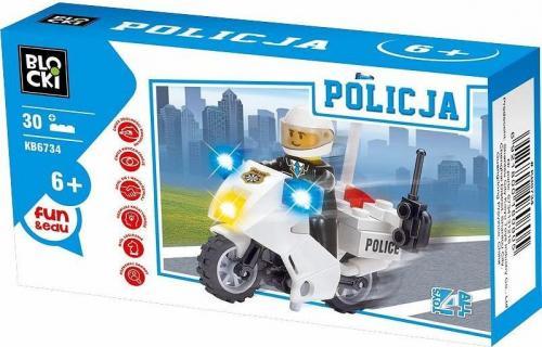 ICOM Klocki Blocki Policja 30 elementów