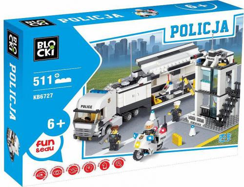 ICOM Blocki Policja - Mobilna kontrola 511el. (KB6727)