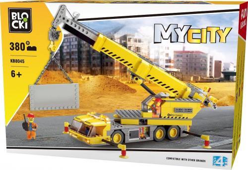 ICOM Blocki Na budowie - Dźwig Duży 380el. (KB8045)