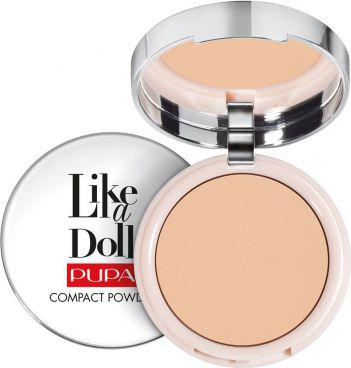 Pupa Like a Doll Compact Powder puder do twarzy 003 Natural Beige 10g