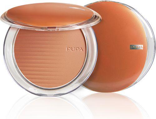 Pupa Desert Bronzing Powder Puder brązujący do twarzy 03 Amber Light 35g