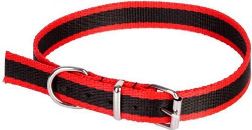 Dingo obroża z taśmy polipropylenowej, pojedyncza szer. 1,0 cm dł.40cm  - 12622