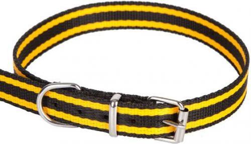 Dingo obroża z taśmy polipropylenowej, pojedyncza szer. 1,0 cm dł.40cm  - 12614