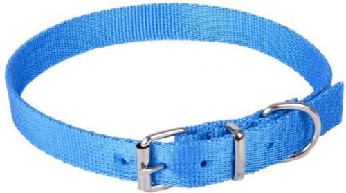 Dingo obroża z taśmy polipropylenowej, pojedyncza szer. 1,0 cm dł.35 cm ( 23-32 cm ) - 12640