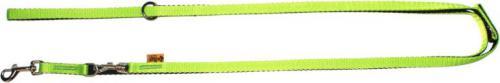 """Dingo smycz przedłużana """"energy"""" , szer. 2,0 cm dł.120-220 cm, z taśmy polipropylenowej zielona"""