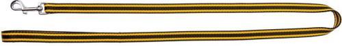 Dingo Pojedyncza z taśmy polipropylenowej 2.5/120cm Czarno-żółta (13016)