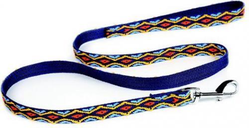 Dingo Winnetou 1.0/130cm z taśmy polipropylenowej Niebieska (13556)