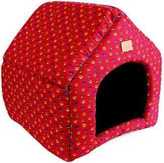 Dingo buda dla psa 40x35x40 cm czerwona (17728)