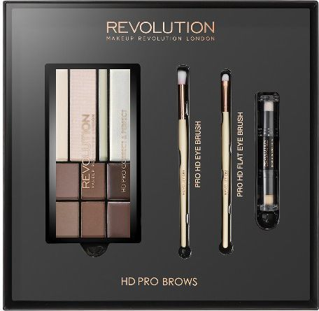 Makeup Revolution REVOLUTION*Zestaw HD Pro Brows
