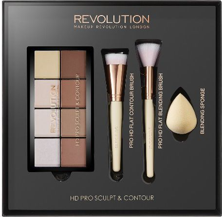 Makeup Revolution REVOLUTION*Zestaw HD Pro Sculpt And Contour