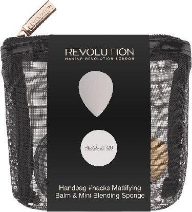 Makeup Revolution REVOLUTION*Zestaw Handbag #hacks Mattifying