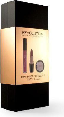 Makeup Revolution REVOLUTION*Zestaw Luxe Shade Blocks 2017 Mate Blac
