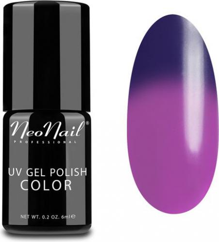 NeoNail Lakier Hybrydowy Termiczny UV Gel Polish Color 5190-1 Purple Rain 6ml