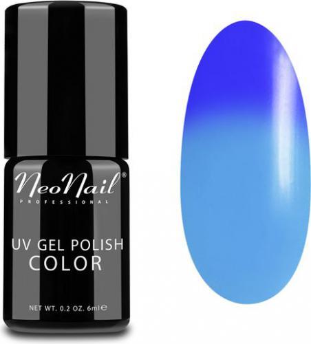 NeoNail Lakier Hybrydowy Termiczny UV Gel Polish Color 5185-1 Blue Heaven 6ml