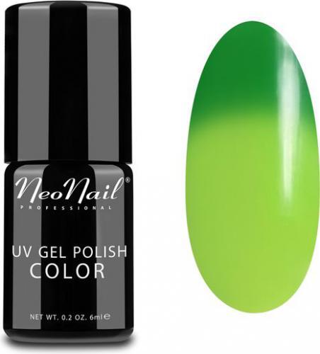 NeoNail Lakier Hybrydowy Termiczny UV Gel Polish Color 5182-1 Mohito 6ml