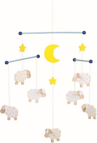 Goki Drewniana karuzela, owce (52951)