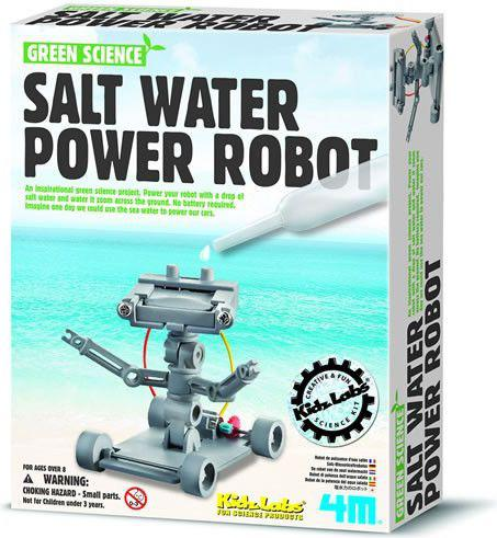 4M Robot zasilany woda morską