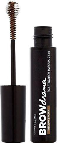 Maybelline  Brow Drama Sculpting Mascara mascara do brwi Medium Brown 7,6ml