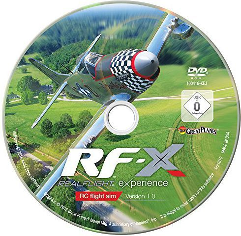 Symulator Realflight RF-X Software Only Version - Upgrade Disk - GPMZ4548