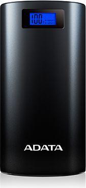 Powerbank ADATA P20000D, 20000mAh (AP20000D-DGT-5V-CBK)
