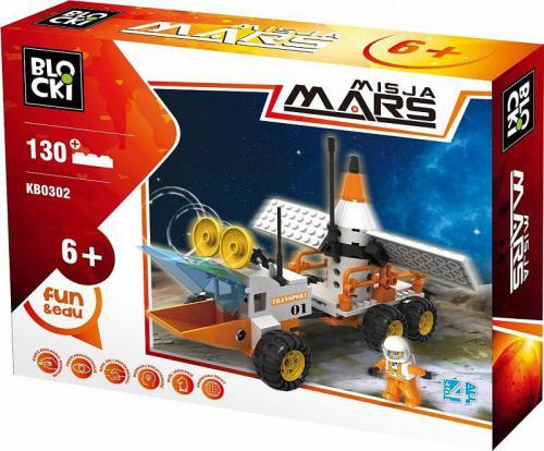 ICOM Blocki Misja Mars Łazik Marsjański