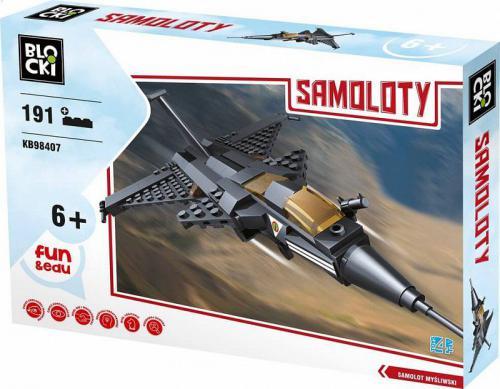 ICOM Blocki Samoloty - Samolot myśliwski III 191 el.