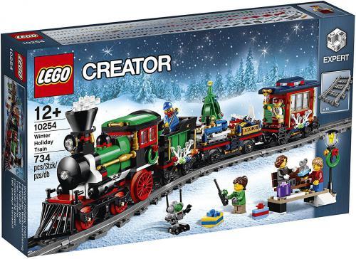 LEGO Creator Świąteczny pociąg (10254)