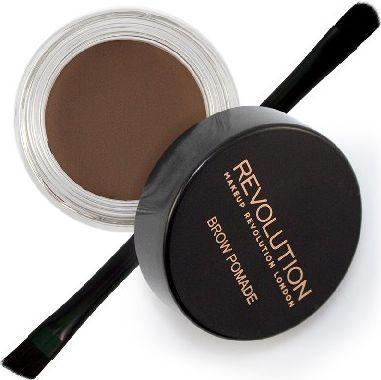 Makeup Revolution Makeup Revolution Brow Pomade Pomada do brwi Dark Brown  1szt