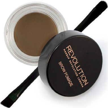 Makeup Revolution Makeup Revolution Brow Pomade Pomada do brwi Medium Brown  1szt