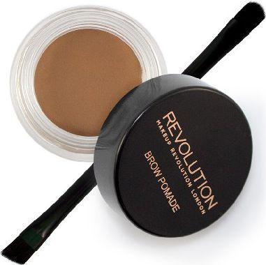 Makeup Revolution Makeup Revolution Brow Pomade Pomada do brwi Soft Brown  1szt