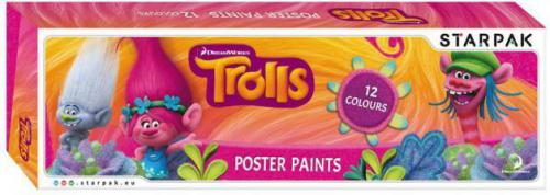 Starpak Farby plakatowe - Trolls